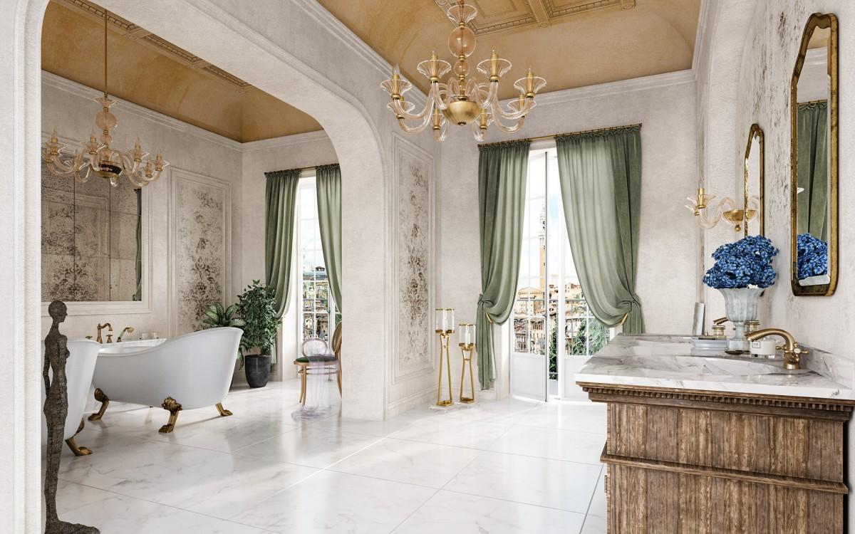 Kąpiel we włoskim stylu